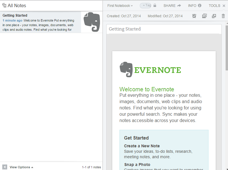 evernote-your-first-note