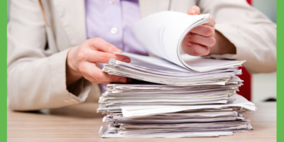 Don't move that paper – get rid of it!